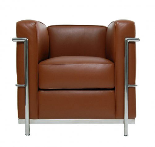Furniture - Chair - LC2 - Le Corbusier