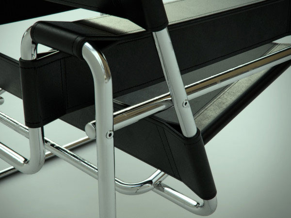 furniture chair wassily marcel breuer. Black Bedroom Furniture Sets. Home Design Ideas