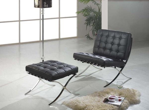 furniture chair barcelona van der rohe. Black Bedroom Furniture Sets. Home Design Ideas