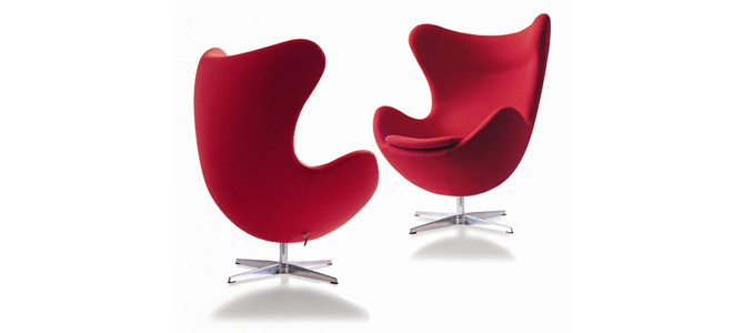 Furniture - Chair - Egg - Arne Jacobsen