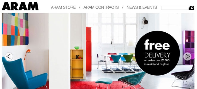 Designshop - aram.co.uk - London - UK